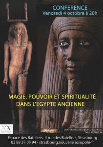 Magie, pouvoir et spiritualité dans l'Egypte ancienne
